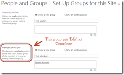 SharePoint Permissions Tips - Contribute