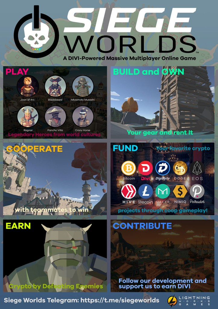 Siege Worlds - Blockchain Gaming MMORPG
