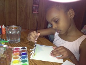 Zariyah intent on her art