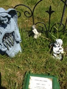 Hana's grave at Union Cemetery, Sedro-Woolley, WA