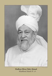 Hazrat Mirza Tahir Ahmad(rh)