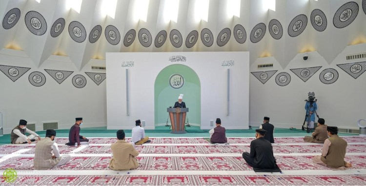 "The World Head of the Ahmadiyya Muslim Community, the Fifth Khalifa (Caliph), His Holiness, Hazrat Mirza Masroor Ahmad, delivered the Eid-ul-Adha sermon       2 August 2020  HEAD OF THE AHMADIYYA MUSLIM COMMUNITY DELIVERS EID SERMON FROM ISLAMABAD                                      His Holiness said Ahmadi Muslims must learn lessons from Prophet Abraham (peace be upon him) and his family, whose sacrifices are marked on the day of Eid-ul-Adha   The World Head of the Ahmadiyya Muslim Community, the Fifth Khalifa (Caliph), His Holiness, Hazrat Mirza Masroor Ahmad, delivered the Eid-ul-Adha sermon on 31 July 2020 from the Mubarak Mosque in Islamabad, Tilford.                         Only a few Ahmadi Muslims were able to offer the Eid prayer in the Mubarak Mosque due to social distancing rules, however across the world, millions of Ahmadi Muslims were able to listen live to the Eid Sermon of their Caliph and to join in with the silent prayer led by their spiritual leader through the global television channel MTA International.  During the sermon, His Holiness recounted the immense sacrifice of Prophet Abraham (peace be upon him) and his son Ismael, whereupon Prophet Abraham (peace be upon him) lay ready to sacrifice his own son Ismael for the sake of God Almighty and it was one which his son willingly assented.His Holiness said that this incident has been recorded in the Holy Quran and so would remain preserved for eternity as a timeless example of the very highest standard of sacrifice.                                             Speaking of their example, Hazrat Mirza Masroor Ahmad said:  ""There are countless number of people who mark this Eid and anticipate its arrival merely as a day of celebration and joy. They sacrifice an animal only to impress others and as an expression of joy. However a true believer recalls and learns from the sacrifice of Prophet Abraham and Ismael (peace be upon them) and its underlying spirit.""  Hazrat Mirza Masroor Ahmad further stated:   ""Certainly when we hear or read of their sacrifice, we cannot help but feel emotional and become tearful. However, that alone is not enough, rather we must analyse whether we ourselves are living up to our pledge that 'I will be willing to make every sacrifice for the sake of God.'""  His Holiness said that God Almighty ultimately stopped Prophet Abraham (peace be upon him) from sacrificing his son and instead gave the glad tiding, narrated in the Holy Quran, chapter 37 verse 106, that:  ""'Thou hast indeed fulfilled the dream.' Thus indeed do We reward those who do good."" His Holiness said that the sacrifice of Prophet Abraham's (peace be upon him) family did not end there, rather it heralded the dawn of a new era of true faith and sacrifice, in which the mother of the Prophet Ismael (peace be upon him), Hazrat Hajra manifested absolute faith and trust in God Almighty.  His Holiness narrated that on the instruction of Allah the Almighty, Prophet Abraham (peace be upon him) left his wife and son in the wilderness of Mecca with a few dates and some water. As she faced this trial, Hazrat Hajra enquired if her husband was leaving them on the command of Allah the Almighty. The Prophet Abraham (peace be upon him) replied in the affirmative  .                 Narrating her pious and noble response, Hazrat Mirza Masroor Ahmad said:   ""With complete conviction and trust in Allah the Almighty, Hazrat Hajra replied 'If you are leaving us upon the command of Allah the Almighty then He will not let us be ruined. You may go wherever you need.'""  Speaking of the incomparable reward that Allah the Almighty granted them in return for their sacrifices, Hazrat Mirza Masroor Ahmad said:  ""History testifies to how Allah the Almighty rewarded the faith of Hazrat Hajra and so He did not forsake her or her son, rather in return, an incredible nation was born to them and they had the ultimate honour that a great prophet, the Seal of the Prophets, Muhammad, the Chosen One (peace and blessings be upon him) was raised from amongst them who became a Prophet for all mankind.""  Reflection upon the immeasurable sacrifices of the Prophet Abraham (peace be upon him) and his family, Hazrat Mirza Masroor Ahmad said:  ""Only when a man strives to tread upon the Abrahamic example and elevates his own level of loyalty towards Allah the Almighty will they become the recipients of the blessings of Allah the Almighty. Only when a woman seeks to emulate the standard set by Hazrat Hajra will she be showered with the blessings of Allah the Almighty. And surely if a young person strives to learn from the example of Prophet Ismael (peace be upon him) will they be the inheritors of Allah's Beneficence. That is when true Eid will be attained.""  His Holiness concluded his Eid Sermon by calling on Ahmadi Muslims to pray for all those who are facings struggles and hardship.  His Holiness instructed Ahmadi Muslims to fervently pray for those who are facing religious persecution in parts of Africa, across Pakistan and elsewhere.  His Holiness mentioned how even the basic religious ritual of sacrificing an animal on the occasion of Eid-ul-Adha was a right that extremists sought to deny to Ahmadi Muslims living in Pakistan. Hazrat Mirza Masroor Ahmad said:    ""Although it is the case every year, this time those who persecute us in Pakistan are especially focused on pressuring the authorities to file cases against Ahmadi Muslims seeking to fulfil the Islamic practice of sacrificing an animal on the occasion of this Eid. They are asserting that Ahmadi Muslims should be punished all because we seek to fulfil this Islamic duty. May Allah the Almighty save Ahmadi Muslims from the evils of such mischievous people.""                                His Holiness concluded the sermon with a silent prayer.  As this year Eid-ul-Adha fell on a Friday, later His Holiness also delivered his weekly Friday Sermon from the Mubarak Mosque during which he spoke about a new law in Pakistan that required people to write 'Seal of the Prophets' after the name of the Holy Prophet Muhammad (peace and blessings be upon him).     Hazrat Mirza Masroor Ahmad stated:  ""These people think they have accomplished a great feat by requiring people to write 'Seal of the Prophets' next to the name of the Holy Prophet (peace and blessings be upon him) and they feel that they have created some hurdles in the path of Ahmadi Muslims by doing so. They are ignorant of the truth because they do not realise that we Ahmadi Muslims are the ones who truly understand the unparalleled status of the 'Seal of the Prophets' (peace and blessings of Allah be upon him) and that we have attained this understanding through the teachings of the Promised Messiah (peace be upon him).""   End  Further Information: pressamjindia@gmail.com"