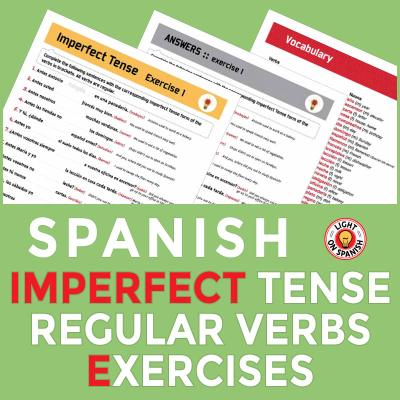 Spanish Imperfect Tense Exercises