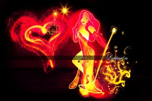 Lightpaint.ru freezelight artwork - Jessica Rabbit