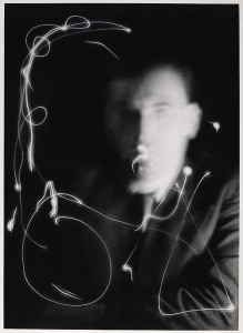 Space Writing by Light Painter Man Ray