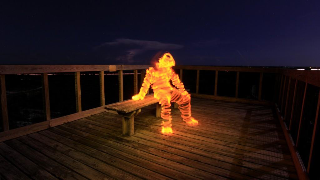 Light Painting Tutorial How To Light Paint a Light Man