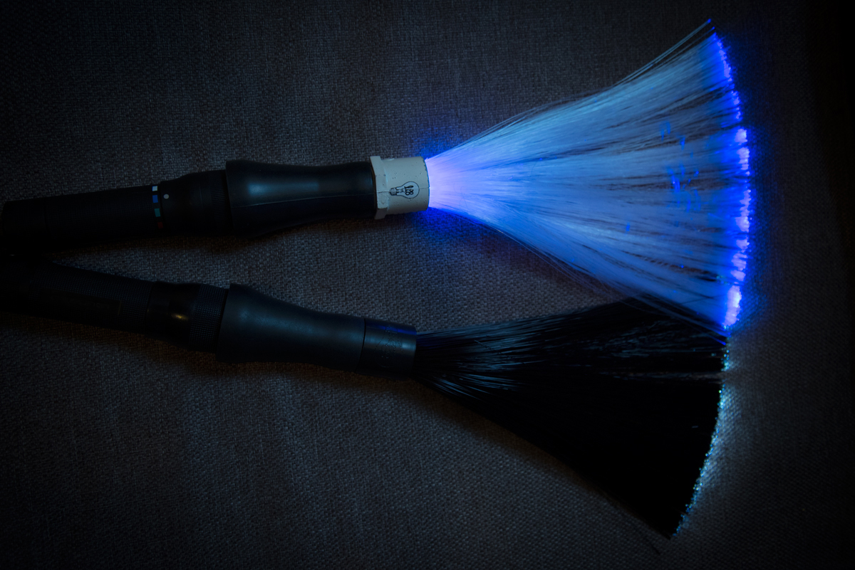 Fiber Optic Light Painting