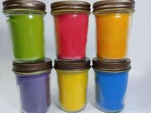 Six color wall