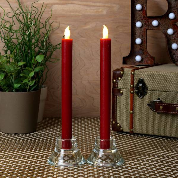 Lightscom Collections Holiday Table Decor Burgundy