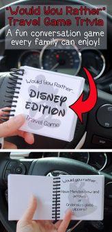 Disney Travel Game
