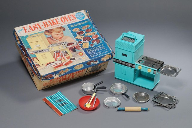 easy bake oven 1950's Toy Boom Exhibit Raleigh