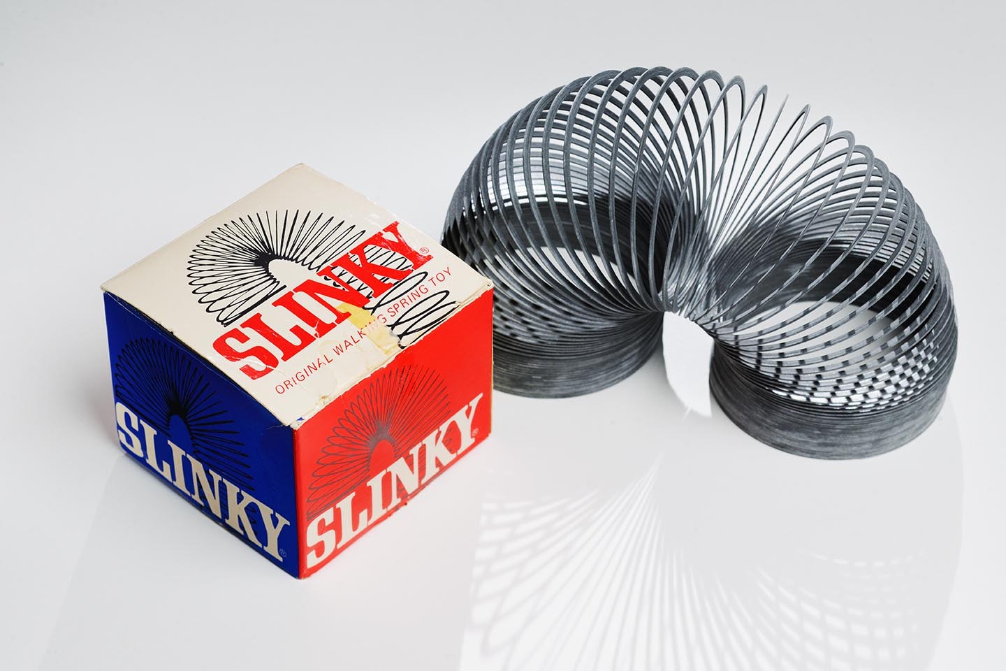 slinky 1950's toy Toy Boom exhibit Raleigh