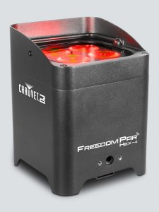 CHAUVET DJ Freedom Par Hex-4 Battery-Powered LED WashBlack Review
