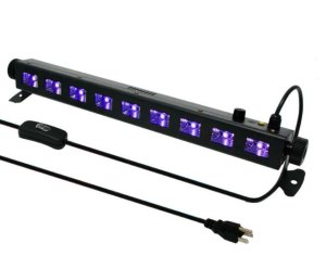 WOWTOU 9x3W 395nm UV LED Bar Black Light Review