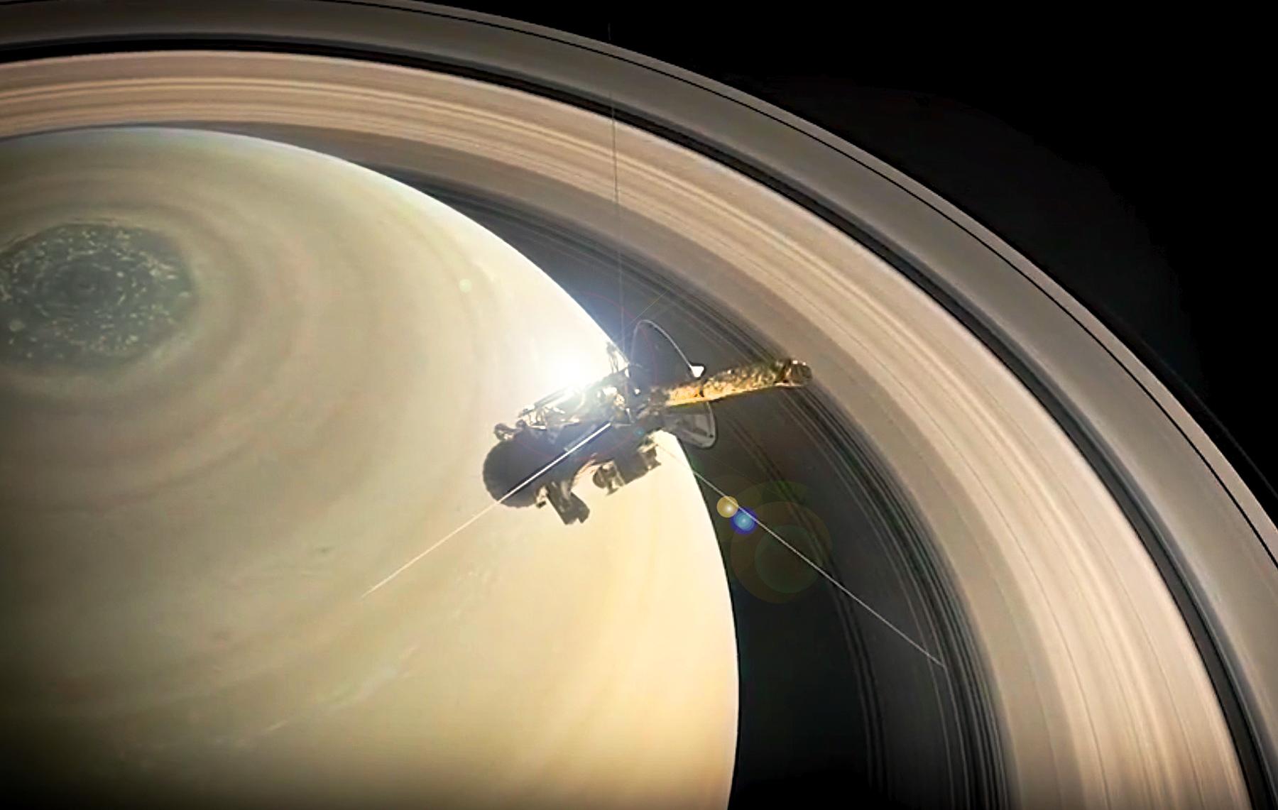 Saturn  Lights in the Dark