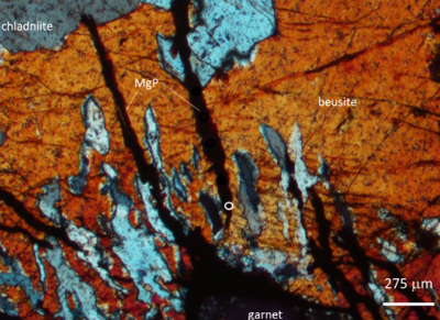 Identification of a mineral that until now was only present in meteroites