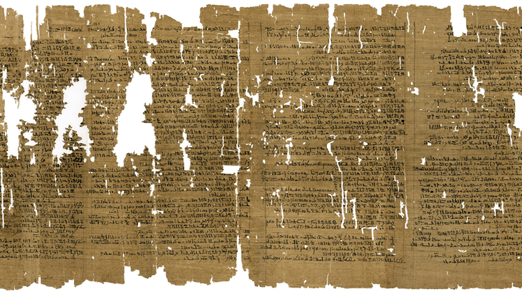 Ancient Egyptian Papyrus Ink Reveals Its Origin