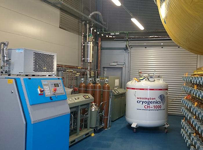 ALBA opens a liquid helium recovery plant