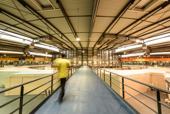 ALBA synchrotron in Barcelona (Spain). (Credit: ALBA)