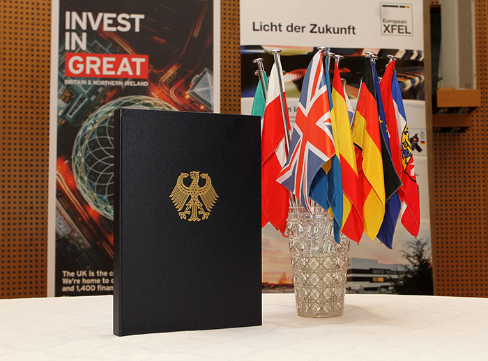 The United Kingdom officially joins European XFEL