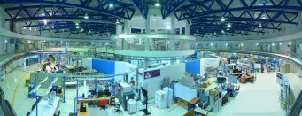 View inside the Ring of the Synchrotron Light Research Institute in Thailand. (Credit: SLRI)