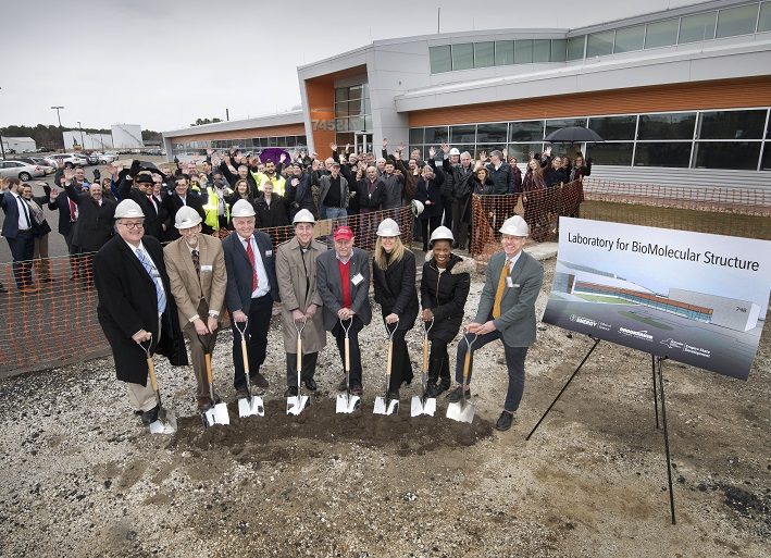 Construction starts on new Cryo-EM center