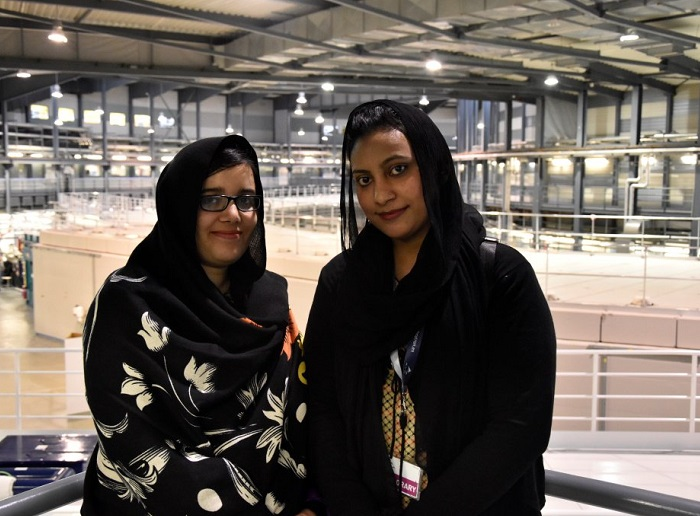 From Pakistan to Barcelona, from scientists to friends