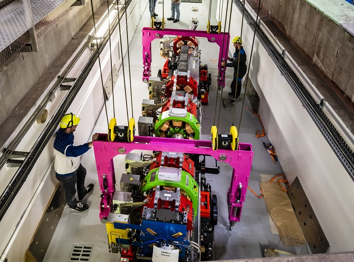 ESRF installs first components of new Extremely Brilliant Source