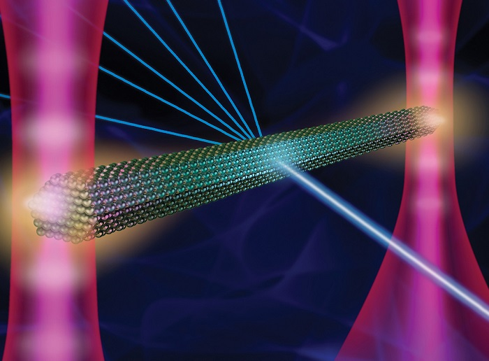 """Optical """"tweezers"""" combine with X-rays to enable analysis of crystals in liquids"""