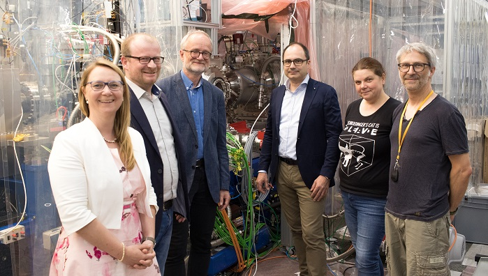 Fastest soft X-ray camera in the world installed at European XFEL