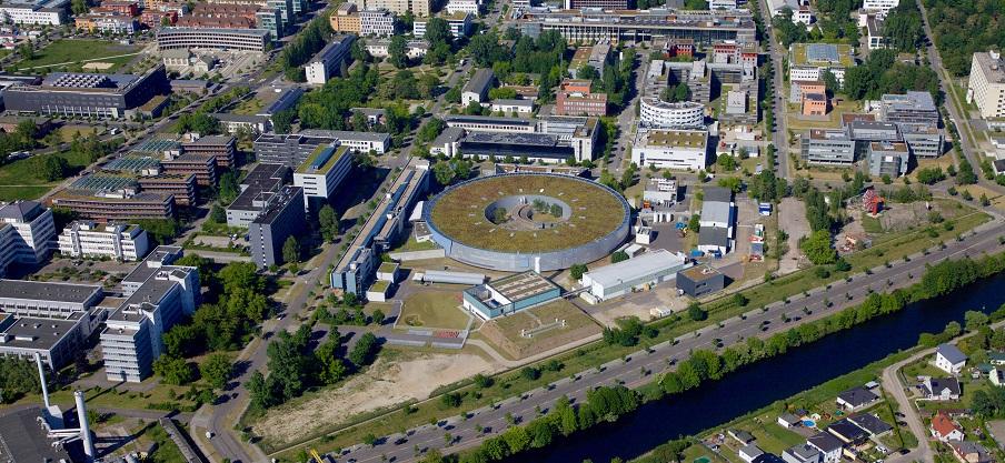 Luftbild von BESSY II (HZB)