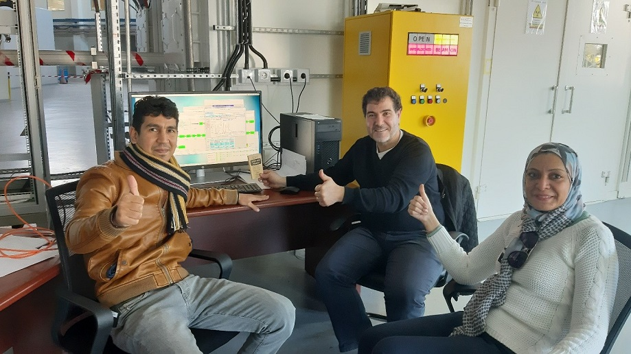 First light for SESAME's MS beamline