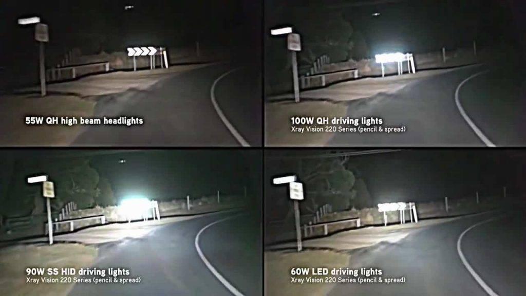 HID vs. Halogen Headlights