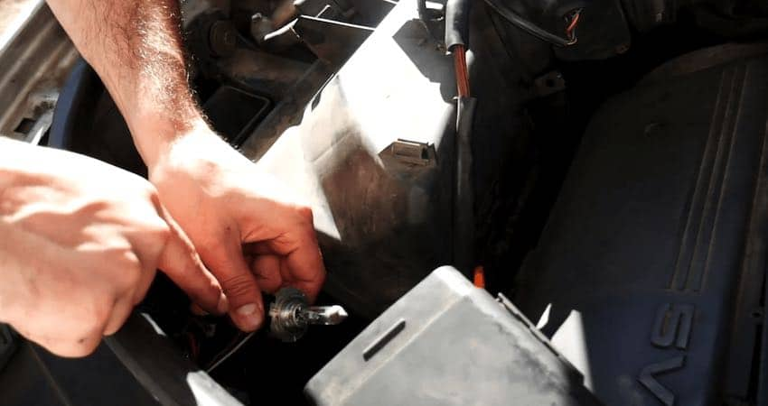 how to replace headlight bulb