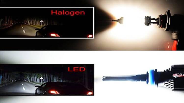 led vs halogen brightness