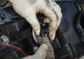 How to Remove Headlight Bulb from Socket