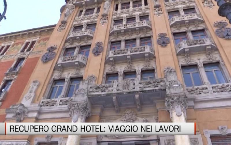 Viaggio nei lavori allinterno del Grand Hotel  Video San Pellegrino Terme