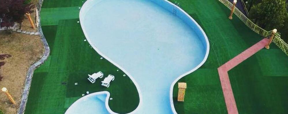 Casargo riapre la piscina dello Sporting Unoasi di refrigerio e svago per il paese
