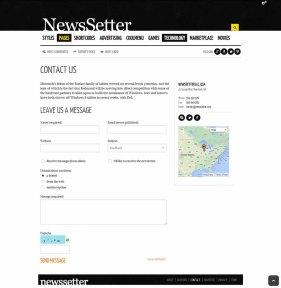 NewsSetter - Contact