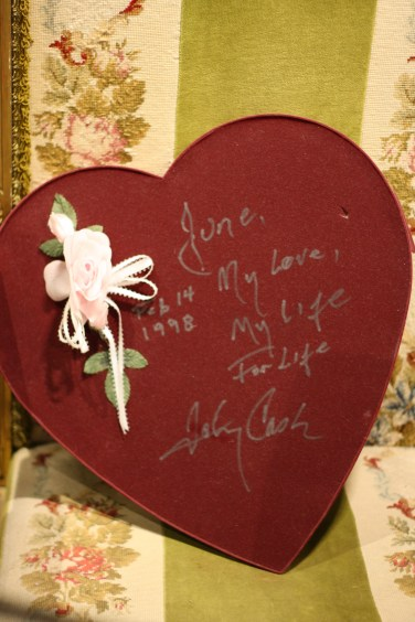 June: his love, his life.