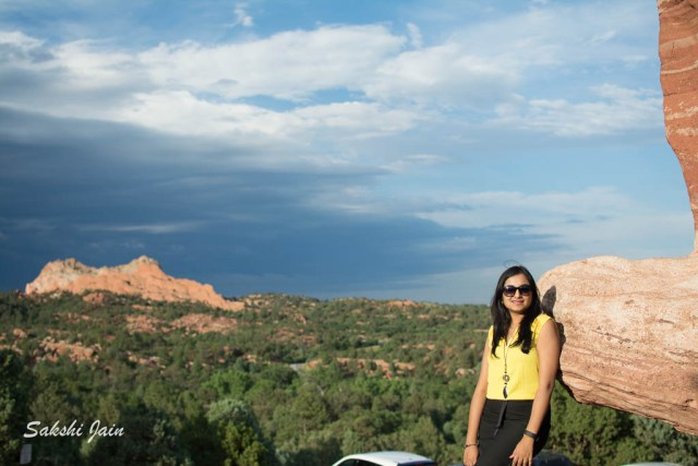 At the Garden of the Gods