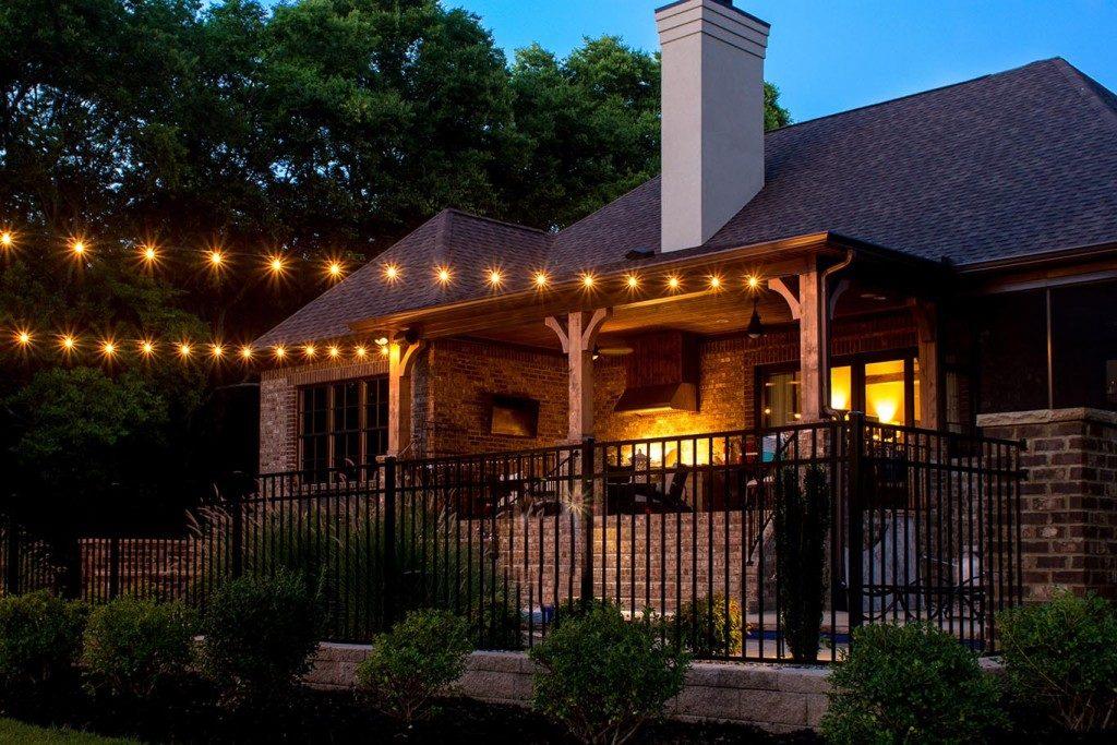 custom outdoor string lights