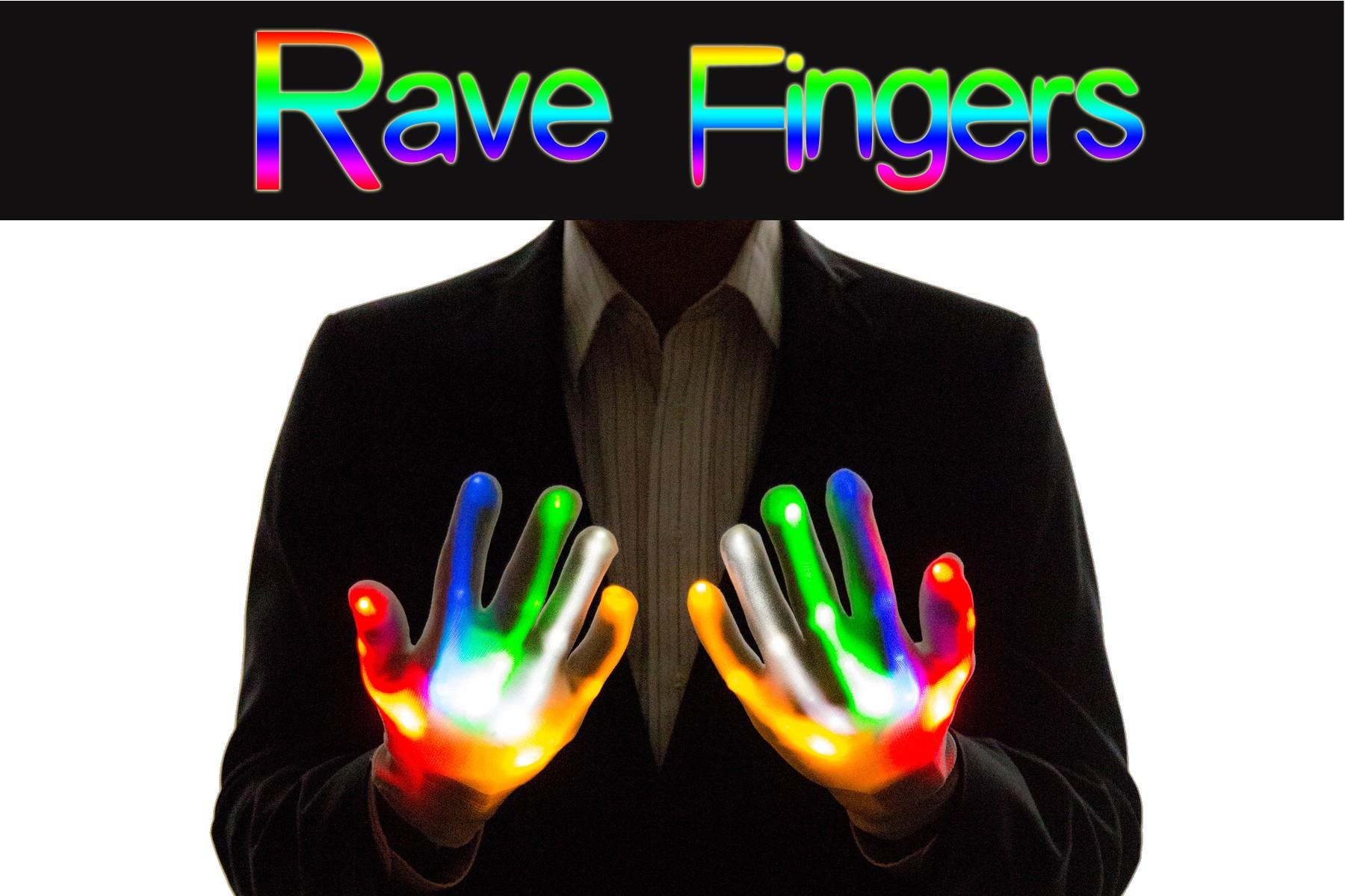 Light Up Gloves aka Rave Fingers
