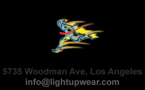 light up wear logo