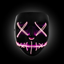 pink light up purge mask