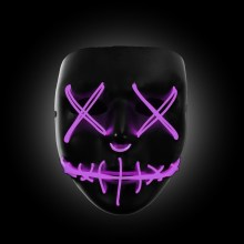 purple light up purge mask
