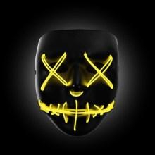 yellow the purge mask