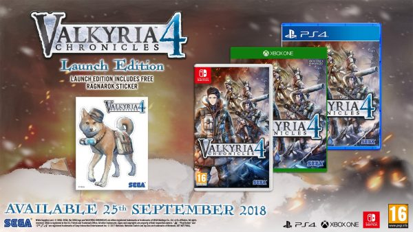 Valyria-Chronicles-4 Launch Edition Europe