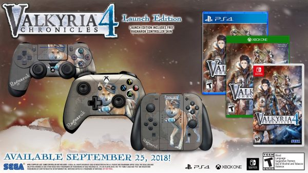 Valyria-Chronicles-4 Launch Edition North America