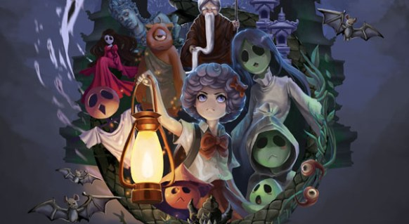 Ghost Parade comming 2019 for ps4 switch and pc